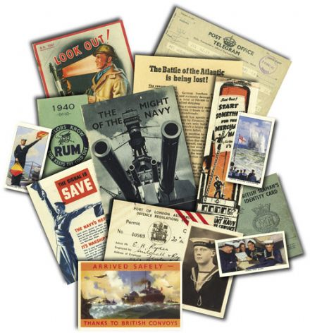 War at Sea (Navy) Memorabilia Pack